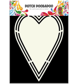 470.713.153 Dutch DooBaDoo Dutch Shape Art Heart tag