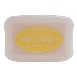 BR1-11 Brilliance ink pad sunflower yellow
