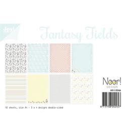 6011/0566 Papier Set A4 Fantasy Fields