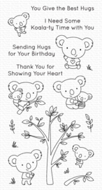 CS-536 My Favorite Things Koala-ty Time Clear Stamps