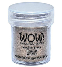 WC03R  Wow! Metallic powder Brass