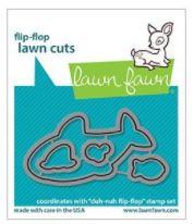 LF2598 Lawn Cuts Custom Craft Die Duh-Nuh Flip-Flop