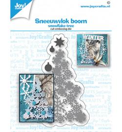 6002/1530 Stans-embos debosmal Sneeuwvlok boom
