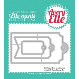 108854 Elle-Ments Dies Gift Tags