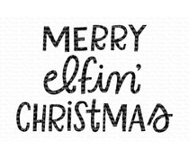 CS-426 My Favorite Things Merry Elfin' Christmas Clear Stamps