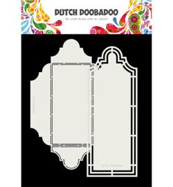 470.713.804 Dutch DooBaDoo Card Art Cortado 2pc