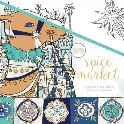 275664 KaiserColour Perfect Bound Coloring Book Spice Market