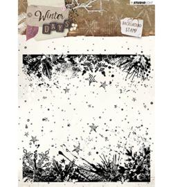 STAMPWD315 Stamp Background Winter Days nr. 315