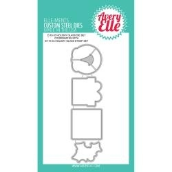 411771 Elle-Ments Dies Holiday Glass