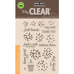 "HA-CM231 Hero Arts Clear Stamps Layered Topiary 4""X6"""