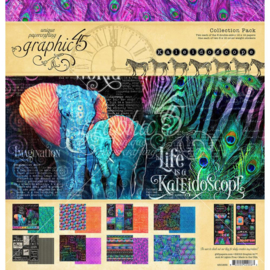 """570463 Graphic 45 Collection Pack Kaleidoscope 12""""X12"""""""