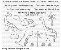 CS-369 My Favorite Things Stamp Cutieasaurus