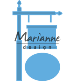 LR0522 Marianne Design Creatables Sign post