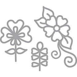 S2293 Spellbinders Shapeabilities Dies Dainty Florals