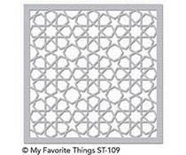 ST-109 My Favorite Things Stencil Geometric Stars