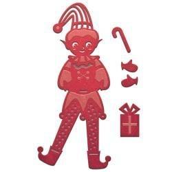 S2179 Spellbinders Shapeabilities Die D-Lites Elf Boy