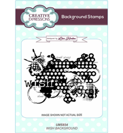 UMS834 Creative Expressions Background Wish