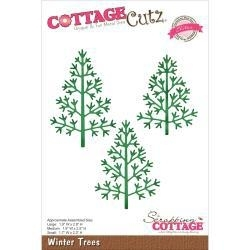 500674 CottageCutz Elites Die Winter Trees