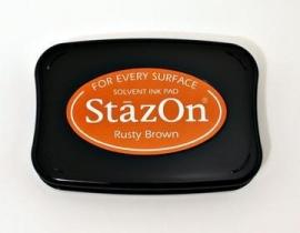 SZ42 StazOn Rusty Brown