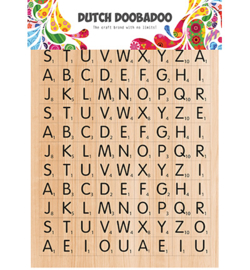 491.200.013 Dutch DooBaDoo Dutch Sticker Art Scrabble