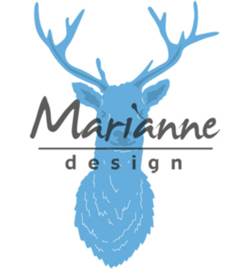 LR0489 Marianne Design Creatables Tiny's Deer head