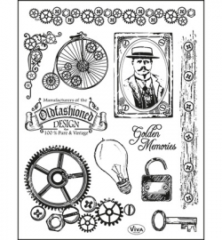 6995 Viva Decor Clear Stamps  Oldfashioned Design