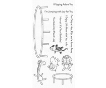 CS-409 My Favorite Things Hop Flip And a Jump Clear Stamps