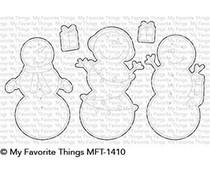 MFT-1410 My Favorite Things Frosty Friends Die-Namics