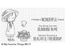 BB-71 My Favorite Things Bring Out the Sunshine Clear Stamps