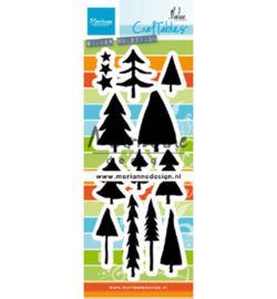 CR1483 Marianne Design Trees by Marleen