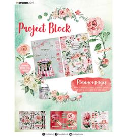 SL-ES-DCB04 - SL Project block Planner pages Roses Essentials nr.04