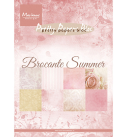 PK9166 Pretty Papers Blocks Brocante summer A5