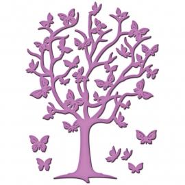 S2-083 Spellbinders Shapeabilities Die D-Lites Flutter Tree