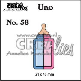 115634/0958 Crealies Uno nr. 58 Zuigfles (klein)