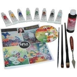 132756 Donna Dewberry Basic Learn To Paint With Oil Set