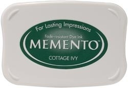 407308 Memento Full Size Dye Inkpad Cottage Ivy