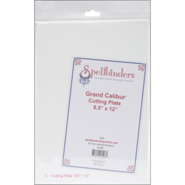 "GC005 Spellbinders Grand Calibur Cutting Plate 8.5""X12.25"""