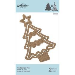 S3360 Spellbinders Shapeabilities Die D-Lites Christmas Tree