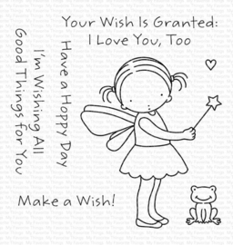 PI-317 My Favorite Things Wish Granted Clear Stamps