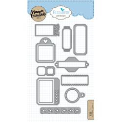 EC1658 Elizabeth Craft Metal Die Planner Labels