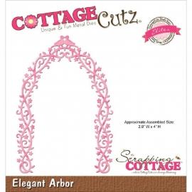 """423124 CottageCutz Elites Die Elegant Arbor, 2.9""""X4"""""""