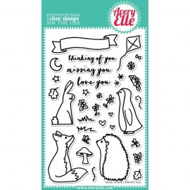 168956 Avery Elle Clear Stamp Set More Stories