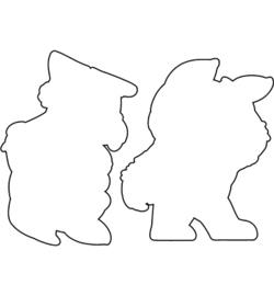 OD95 C.C.Designs snijmal Lumber Bunny