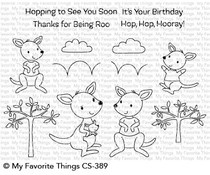 CS-389 My Favorite Things Kangaroo Crew Clear Stamps