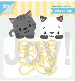6002/1321 Cutting & embossingJocelijne Lieve Kittykat