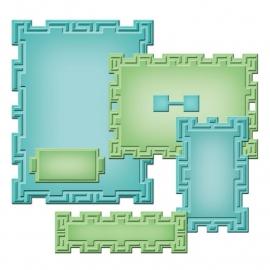 S5193 Spellbinders Nestabilities A2 Card Creator Dies Tile Works
