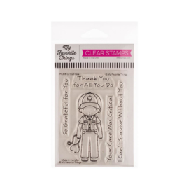 "PI308 My Favorite Things Pure Innocence Stamps Critical Care 3""X4"""