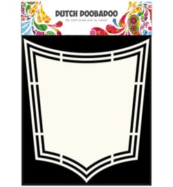 470.713.158 Dutch DooBaDoo Dutch Shape Art Shield