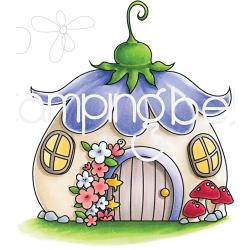 265872 Stamping Bella Cling Stamps Little Bits Fairy House