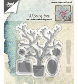 6002/1410 Joy!Crafts Cutting & embossing Wensboom